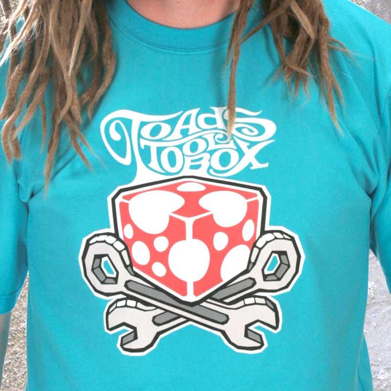Toadstoolbox LOGO t-paita